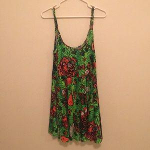 Tropical Print Iron Fist Dress